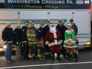 Santa, Jingles & your UMFC Firefighters