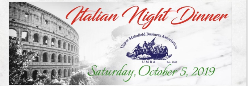 UMBA Italian Night Dinner 2019